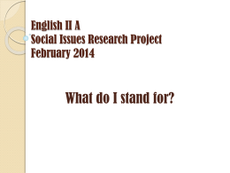 Social Injustice Research Paper
