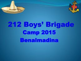 Camp 2015 - 212th Glasgow