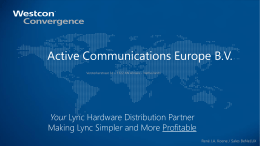 Active Communications Europe