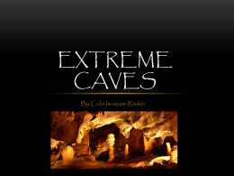 Extreme Caves - SD43 Teacher Sites