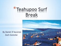 Teahupoo Surf Break