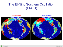 El Nino Impacts