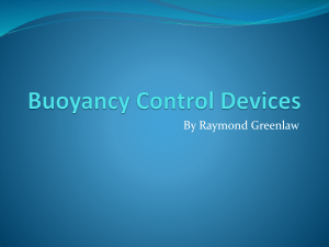 Buoyancy Control Devices