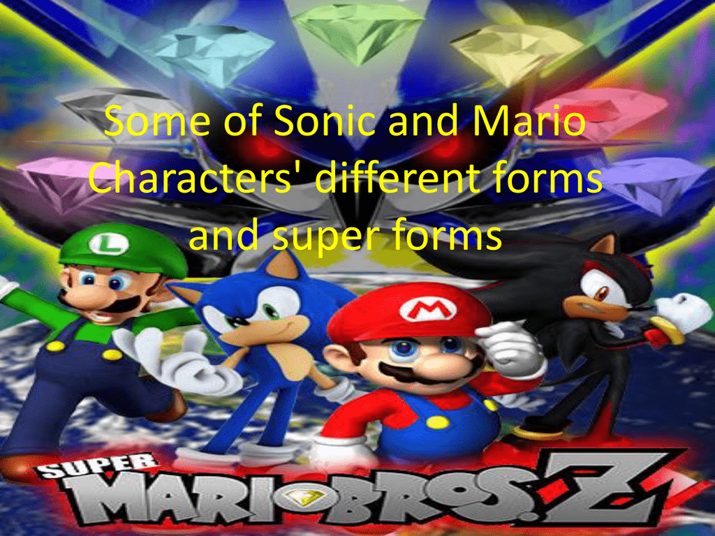 List Of Sonic S Different Forms And Super Forms