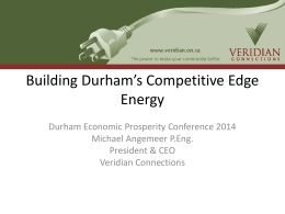 PowerPoint - Durham Economic Prosperity Committee