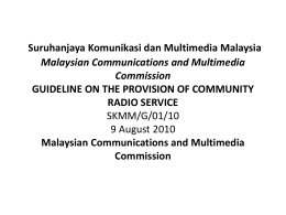 Malaysian Communications and Multimedia Commission