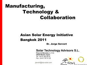 Solar Technology Advisors SL