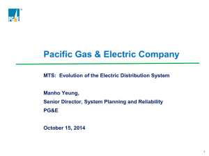 Pacific Gas & Electric - Greentech Leadership Group