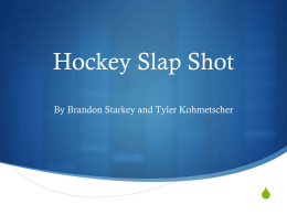 Hockey Slap Shot
