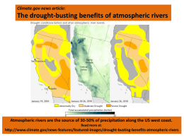Exceptional Drought - California Nevada Climate Applications