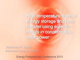 Kotze_J - Energy Postgraduate Conference