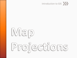 Map Projections (PPT)