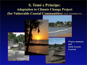 Adaptation to Climate Change for Vulnerable Coastal Communities