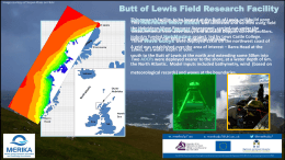 Butt of Lewis X-band radar field research faciltiy