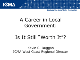 A Career in Local Government
