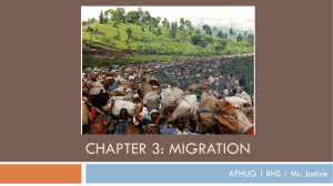 Chapter 3: Migration - Bremerton School District