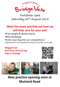 Portlethen Gala Saturday 30 th August 2014 Meet the