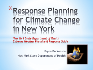 Extreme Weather Planning & Response Guide