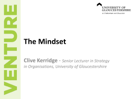 Slides - Insight – University of Gloucestershire