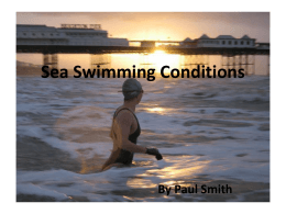 Sea Swimming Conditions By Paul Smith