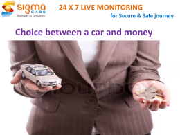 Buy Back per vehicle - Sigma Taxi Safest Cabs in Hyderabad