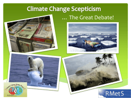 Climate Change Scepticism PowerPoint