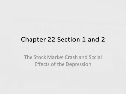 Chapter 22 Section 1 and 2