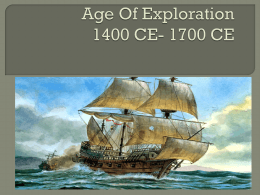 Age Of Exploration 1400 CE