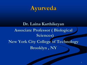 Ayurveda Consent Form - Zanjabee Integrative Medicine & Primary