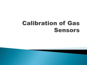 Calibration of Gas Sensors