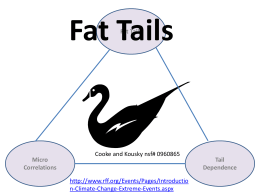 Introduction to Fat Tails