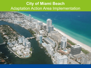 Wheaton - City of Miami Beach, Adaptation Action Area