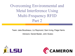 Overcoming Environmental and Metal Interference Using Multi
