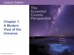 Chapter1 - A Modern View of the Univserse -pptx