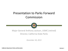 Presentation by General Jackson- pptx - CAL