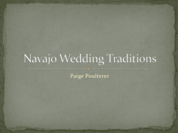 Navajo Wedding Traditions
