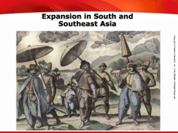 Expansion in SE Asia
