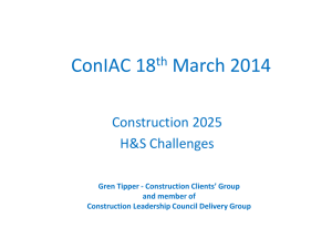 CONIAC 18 March 2014 – presentation – Gren Tipper