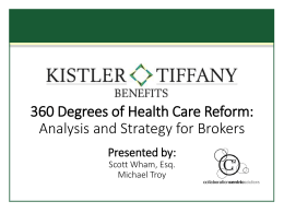 360 Degrees of Health Care Reform