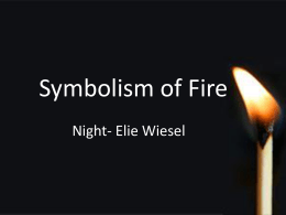 "loss of faith in night by elie wiesel essay Never shall i forget those flames which consumed my faith forever"" (wiesel 32) elie was a child more about essay on loss of religion in night, by elie wiesel."