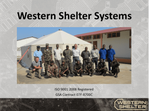 Western Shelter Systems - National Guard Association of the United