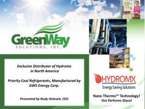 HX-Presentation PPT - Green Way Solutions