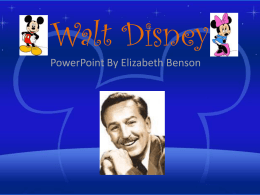 Walt Disney - Nashua School District