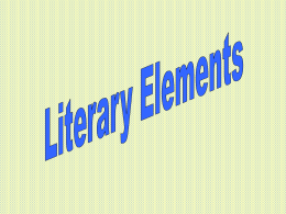 Story Element Notes - Mr. Sebek, Room 213