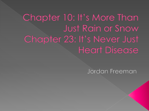 Chapter 10: It*s More Than Just Rain or Snow Chapter 23: It*s Never