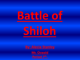 battle of shiloh - ushistory