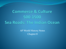 Sea Roads: Indian Ocean Trade