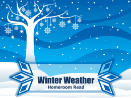 winter weather 2014