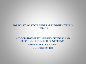 BLain_Forecasting State General Revenue Fund