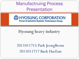 Hyosung Heavy Industry